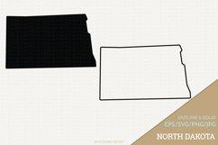 North Dakota Vector / Clip Art Product Image 1