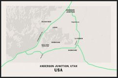 Fonts for Maps   Vintage Industrial   Riverwest Product Image 3