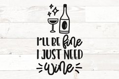 Wine Glass Sayings SVG Bundle Wine Quotes Product Image 7