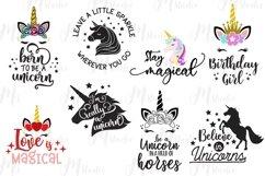 Unicorn svg bundle , unicorn Bundle, Best Seller. Product Image 6