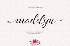 madelyn - Chic Script font Product Image 1
