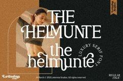 THE HELMUNTE - Luxury Serif Font Product Image 1