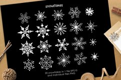 Christmas vector graphic set Product Image 2