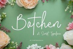 Web Font Batchen Product Image 1