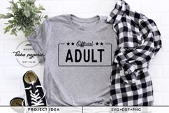 Official Adult 18th Birthday SVG Product Image 1