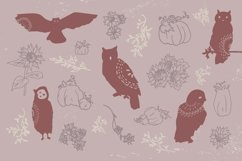 Autumn Owl Graphics Pack Product Image 2