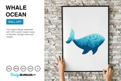 Whale Ocean Vector Illustrations Product Image 4