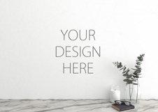 Interior mockup - blank wall mock up Product Image 1