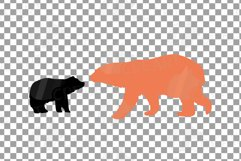 Baby and mama bear nursery clip art collection, bears print Product Image 12