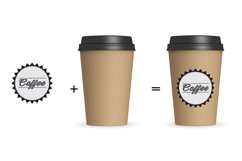 Paper Coffee Cup Mockup V1 Product Image 3