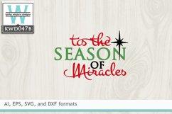 Christmas SVG - Tis The Season Product Image 2