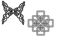 Celtic Symbols, Knots & Crosses AI EPS PNG, Irish Clip Art Product Image 5