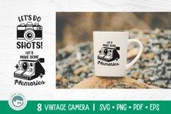 Camera SVG Cut Files Bundle Product Image 4