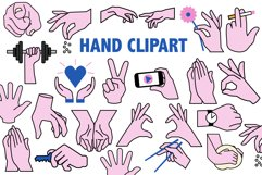 Hands Clipart Product Image 1
