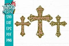 Easter Cross Bundle SVG DXF PNG PDF Cut File Product Image 1