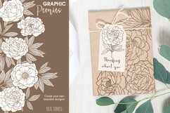 Pretty Peonies in Pink & Yellow Product Image 2