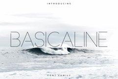 Basicaline Font Family - Sans Serif Product Image 1
