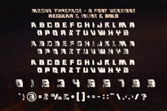 Mecha - Display Font Product Image 3