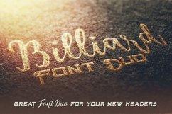 Billiard Font Duo Product Image 5