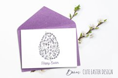 Hand drawn Lavender clipart. Valentines lavender heart. Product Image 5