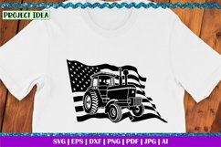 American Farmer Black | Life is better on the Farm | Tractor Product Image 2