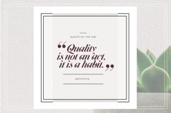 GRUNGE Social Media Quote Banners Product Image 2