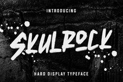 Skulrock Hard Display Typeface Product Image 1