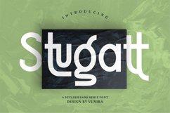 Stugatt | A Stylish Sans Serif Font Product Image 1