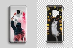 Samsung Galaxy S9 3d Phone Case Mockup Product Image 3