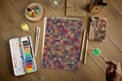Tile mosaic seamless patterns collection Product Image 6