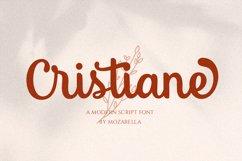 Cristiane - a Elegant Script Product Image 1