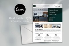 Real Estate Flyer, Canva Product Image 1