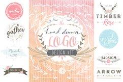 Hand Drawn Logo Design Kit Product Image 1