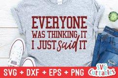 Sarcastic SVG Bundle | Funny SVG Cut Files | Shirt Bundle Product Image 6