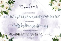 Bonbons -modern calligraphy script font with gold and silve Product Image 2