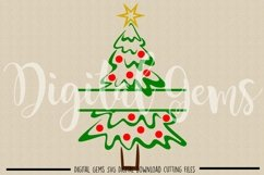 Christmas tree SVG / PNG / EPS / DXF files Product Image 2