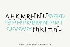 Konnect Regular & Italic Fonts Product Image 6