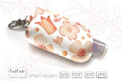 Keychain Hand Sanitizer Case Holder SVG Template Product Image 2