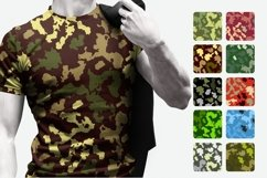 10 Army Camouflage Patterns Vectors Product Image 2