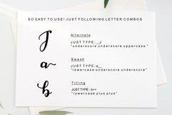 Jaggielka - Modern Script Font Product Image 4