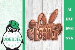 Layered Easter bundle 3d svg dxf Multi layer mandala easter Product Image 9