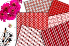 Brilliant Ruby Digital Paper Product Image 2