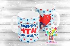 4th July Mug Sublimation Designs #5 Product Image 1