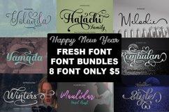 Fresh Bundles Font Script Happy New Year Product Image 1