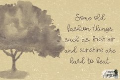 Farmhouse Charm - a smooth handwritten script font duo Product Image 3