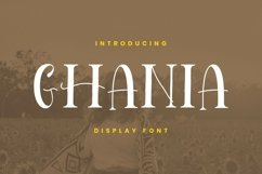 Ghania Font Product Image 1