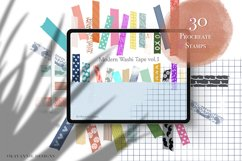 205 Washi Tape Bundle for Procreate Product Image 2