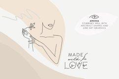 Aronia - Thin Line Logo Font Product Image 9