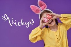 Rabbity - A Spring Font With Ears & Cotton Tails Product Image 3