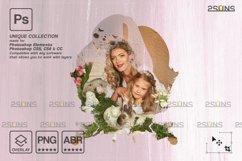 Easter Watercolor overlay & Photoshop overlay Product Image 4